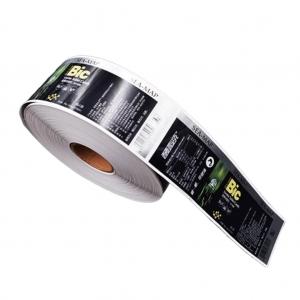 光面印刷不干胶标签